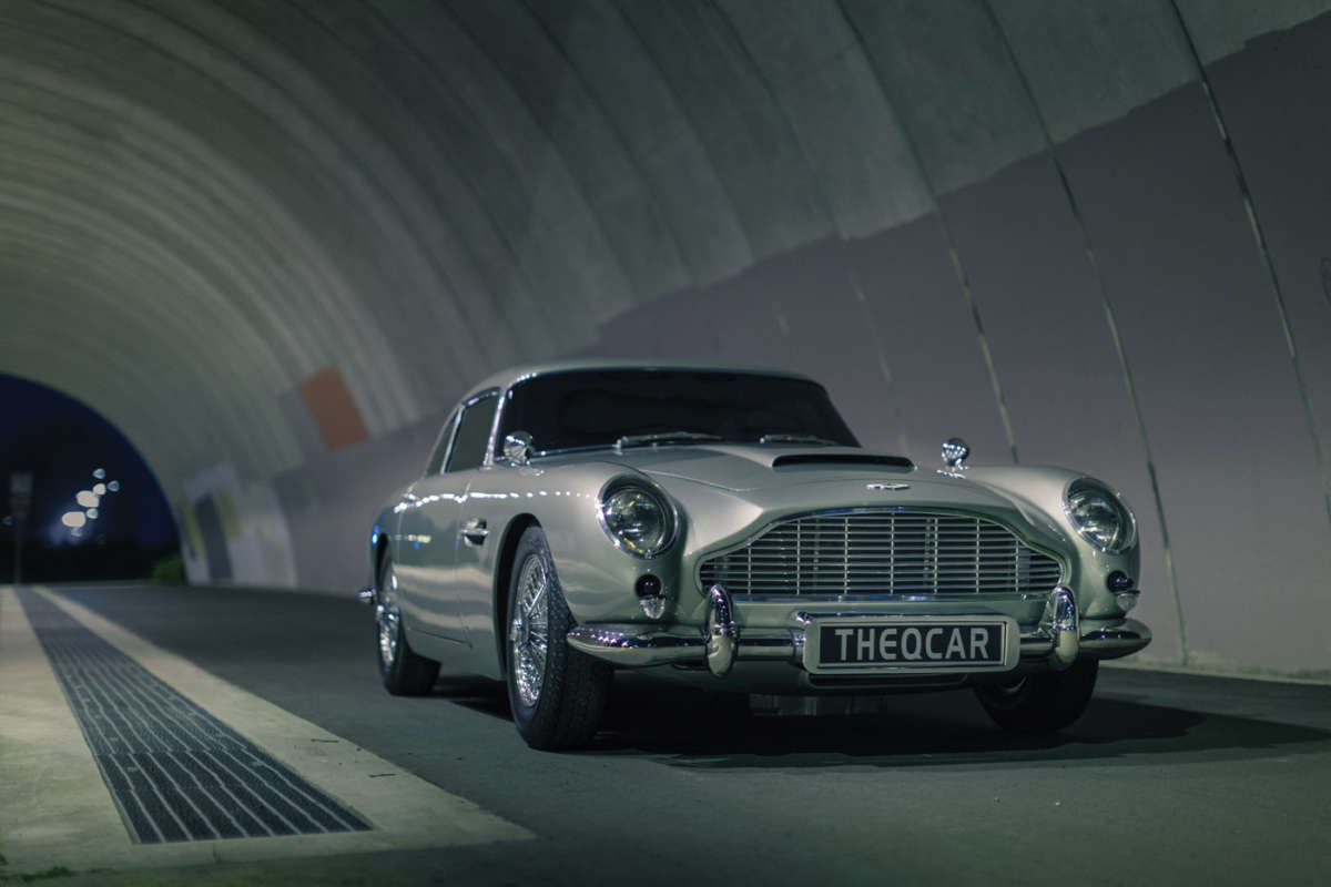 ... Car Db5 E4 An Original Aston Martin Grille Was Used. Ferociously  Expensive, As Are All Aston Parts ...