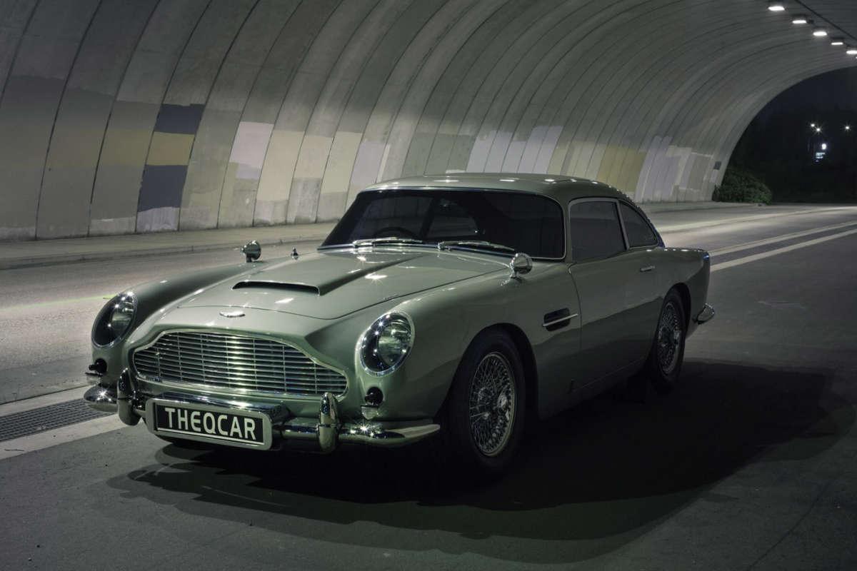 Who Invented The Automobile >> James Bond Aston Martin DB5 replica | ReinCarNation Magazine
