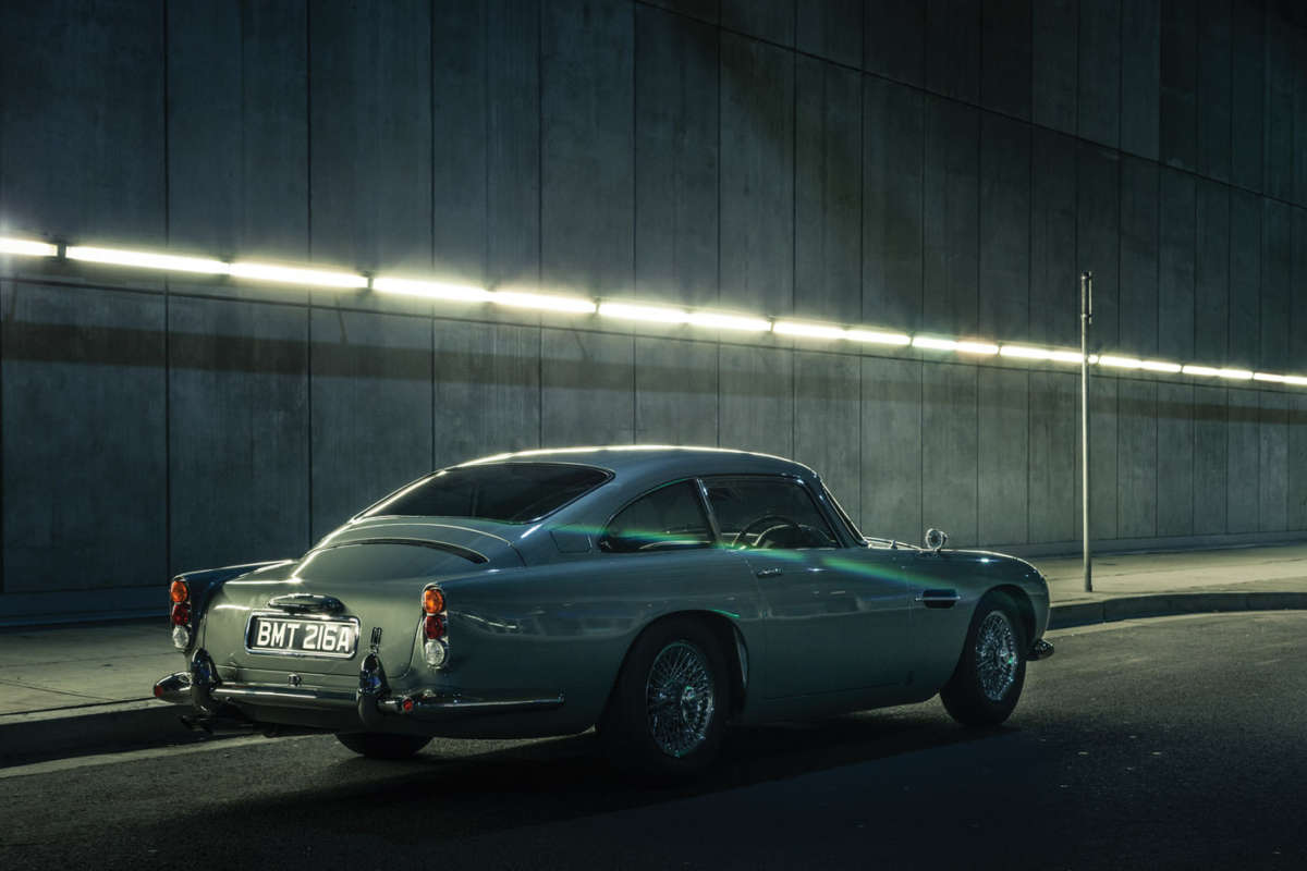 They Would Come In Q Car Db5 B20 ...