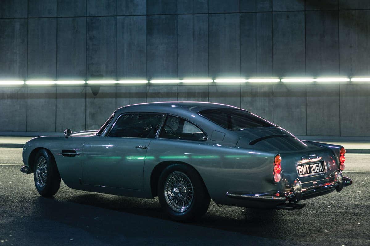 James Bond Aston Martin DB Replica ReinCarNation Magazine - Aston martin db5 kit car