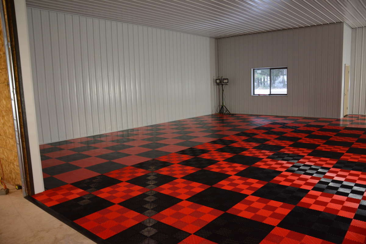 How To Check Transmission Oil >> RaceDeck modular garage flooring tiles… | ReinCarNation Magazine
