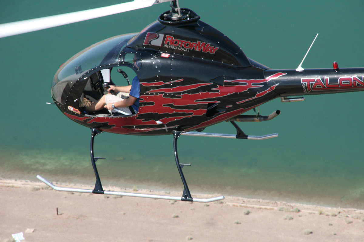 RotorWay's A600 helicopter kit.   ReinCarNation Magazine