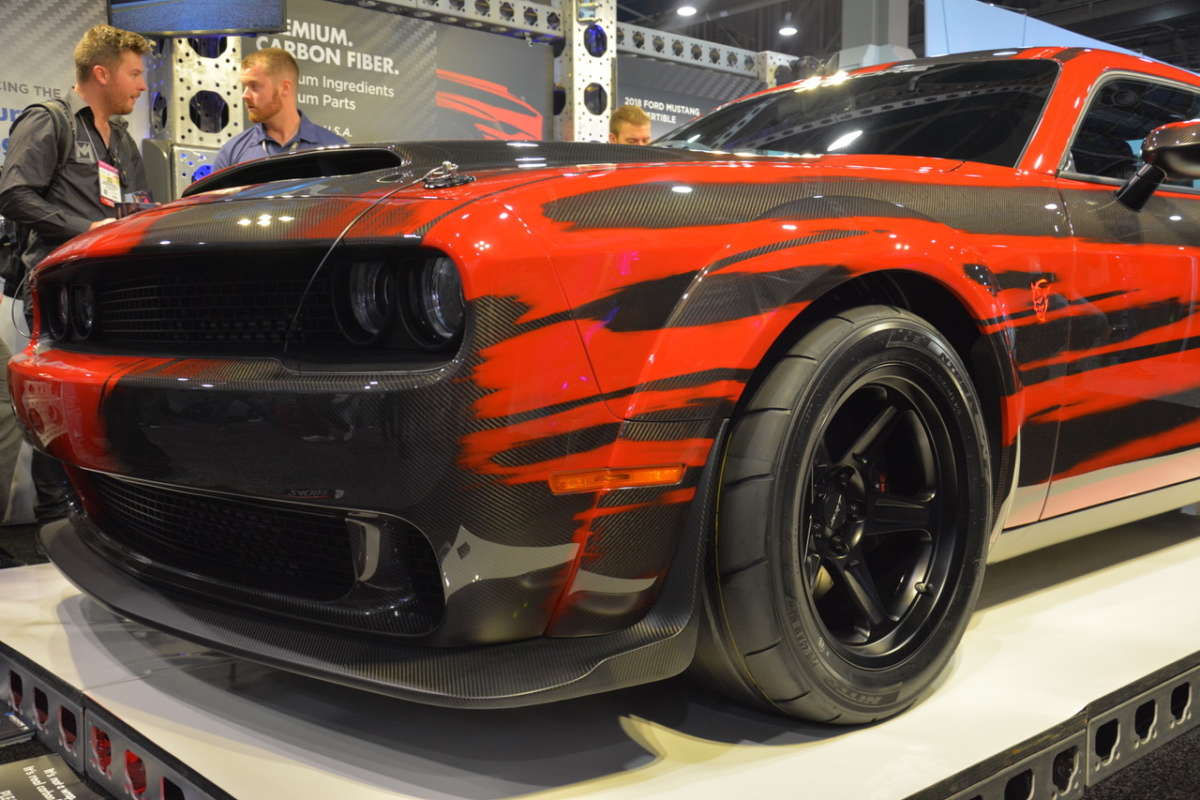 Seven Best Paint Jobs From Sema 2017 Reincarnation Magazine