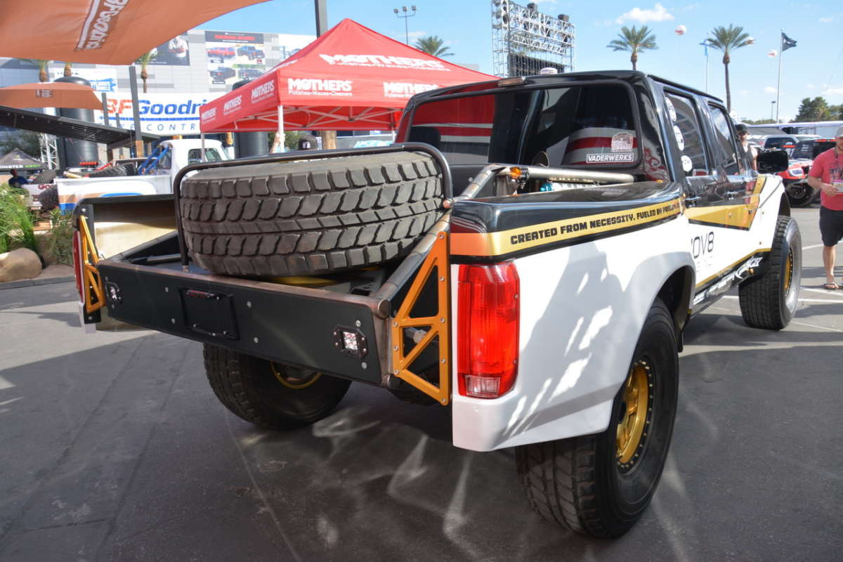 17 Inch Low Profile Tires >> Best Pickups from SEMA '17 | ReinCarNation Magazine