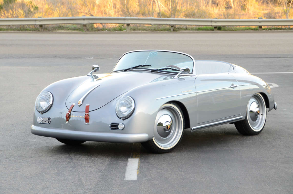 2 5 Liter Subaru Powered 356 Speedster Reincarnation