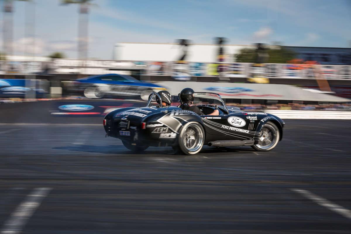 Cobra set up for drifting