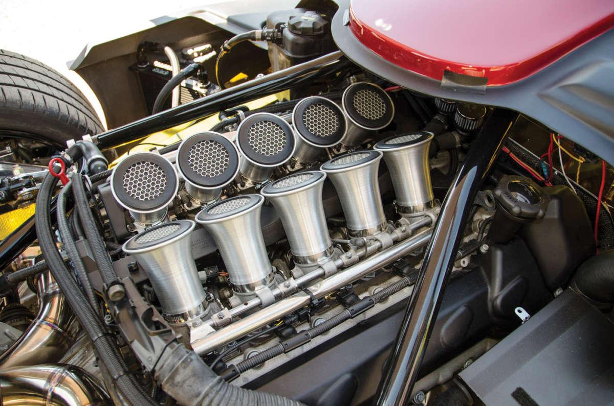 Installing a BMW V10 in a Superlite SL-C   ReinCarNation Magazine
