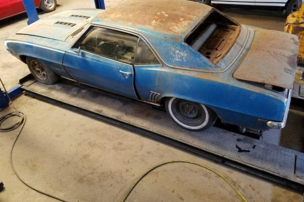 '69 Camaro Ss396 5 1
