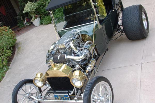 1923 Twin Turbo T Bucket Hot Rod 5