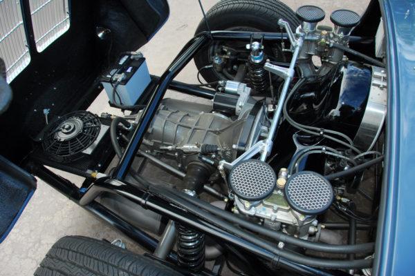 1955 Porsche 550 Spyder Build 7