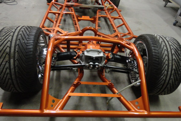 1962 Copper Corvette Frame 1