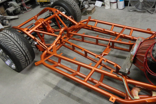 1962 Copper Corvette Frame 2