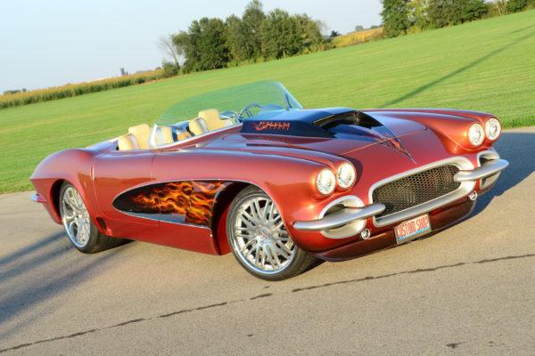1962 Custom Shop Copper Corvette 7