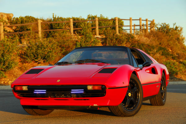 Electric Ferrari 308 Reincarnation Magazine