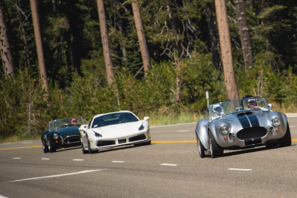 A few foreign exotics mixed it up with the Cobras as well.