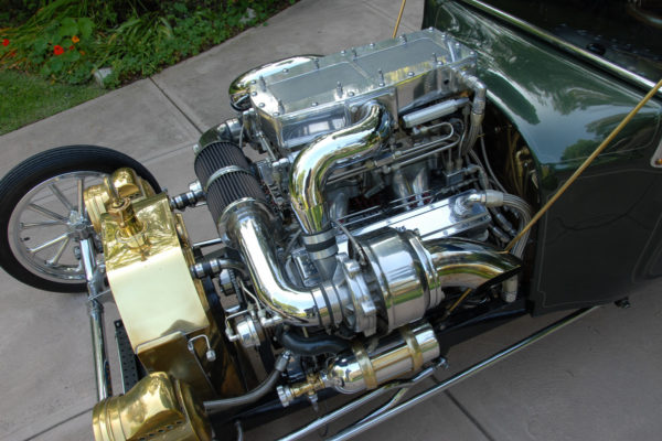 Banks Power Twin Turbo Small Block V8 3