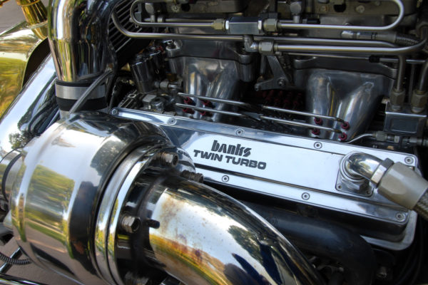 Banks Power Twin Turbo Small Block V8 4