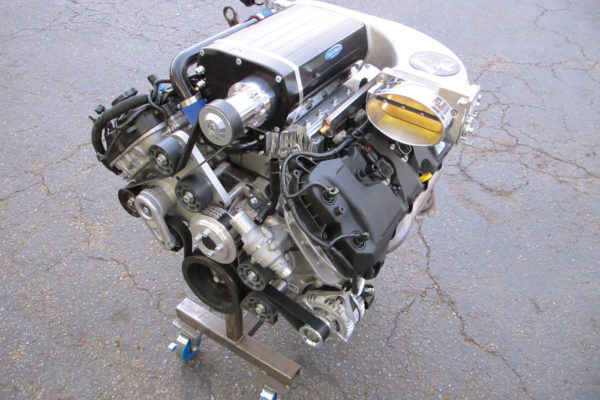 Ford's Coyote is becoming a popular choice for Cobra and other replicas, and works well with a Kenne Bell twin-screw supercharger.