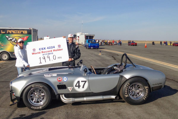 Prior to the latest paint job, Virgil Benton's Shelby had a different color scheme when it hit a top speed of 199 mph on April 11, 2015, at the Mojave Air & Space Port.