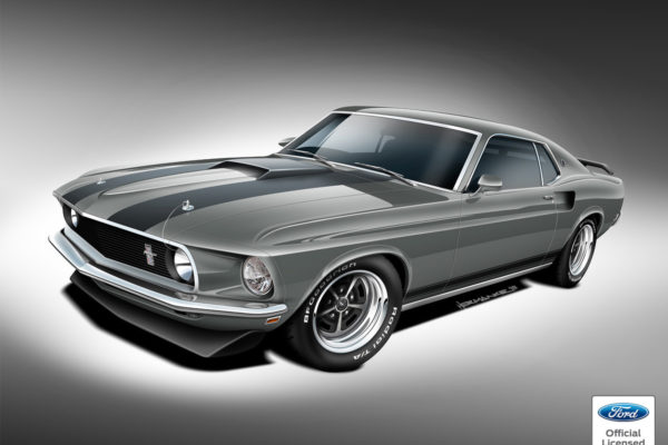 Classic Recreations 1969 Mustang