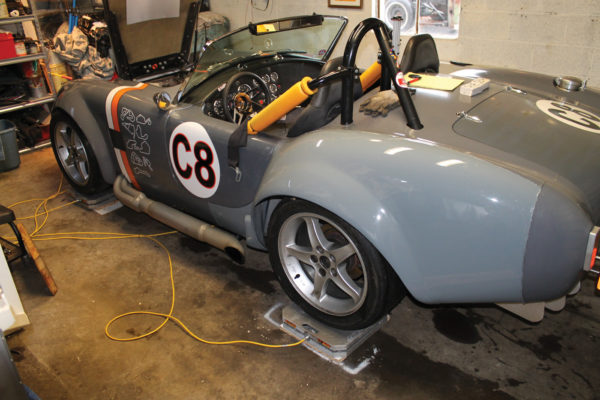 "One of the most beneficial results of this modification was the car now becoming one solid ""plank,"" minimizing chassis twisting. The car 