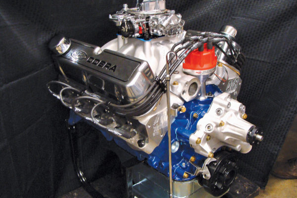 This 645 hp, 461 stroker engine is headed for a 