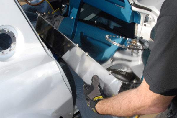 Corvette Fuel Cell Installation 5