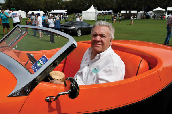 Deco Rides' Terry Cook has an impressive pedigree of custom cars to his name, most of them inspired by classic designs of the 1930s, but with a touch of hot-rodding added in.