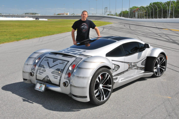Mike Vetter of The Car Factory is  the twisted mind behind the Dimensia.