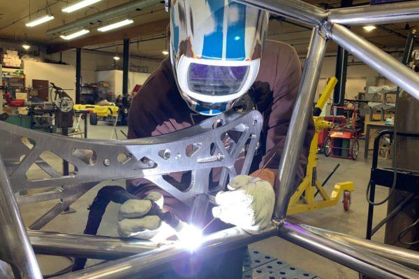 We like welding Docol R8 with our Miller Dynasty 400 set to pulse mode, using ER80S filler.