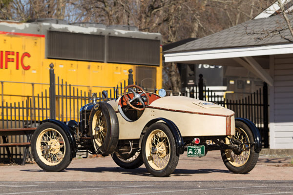 Back in the day, a streamlined boattail was the cat's meow for Model T racers.