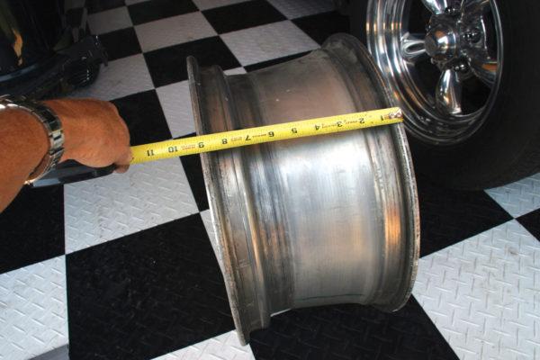 Fitting Wheels C5