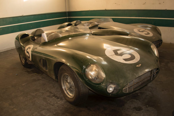 These MEV replicas of the Aston Martin DBR1 were seen