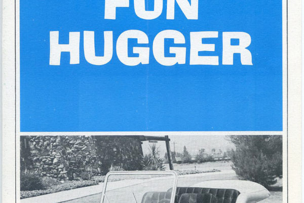 Fun Hugger Vw Dune Buggy 7