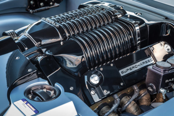 Whipple's twin-screw supercharger design delivers way more power than the Roots or centrifugal types of forced induction, with a virtually flat torque curve, along with smoother drivability as well. This particular application runs  14 pounds of boost to hit 1,000 hp.