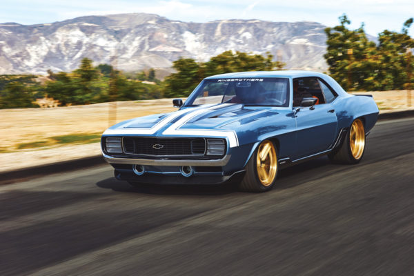 The lines and look of the G-Code Camaro are both classic and contemporary. And with 1,000 horses on tap, the suspension had to be upgraded as well, using a Detroit Speed's Hydroformed front clip and QuadraLink rear with AFCO shocks on all four corners.