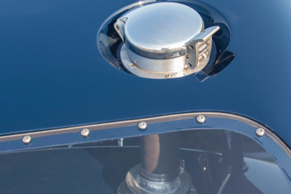 The Le Mans fuel cap is a particularly apt reference, seeing as it's fitted to a Le Mans hardtop.