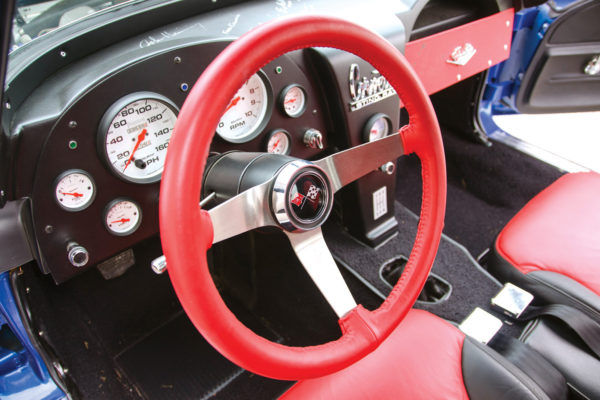 In keeping with this replica's more modern 