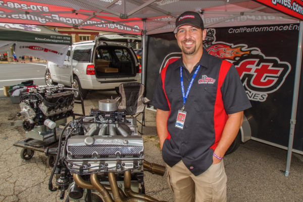 Lance Smith of Craft Performance was all smiles over his new crate engines. We'll be digging into the details of them in an upcoming issue.