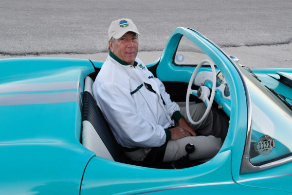 Steve Miller, who has bought and sold about 60 cars over the years, was enticed by the LaDawri's lines and up to the challenge of a restoration.