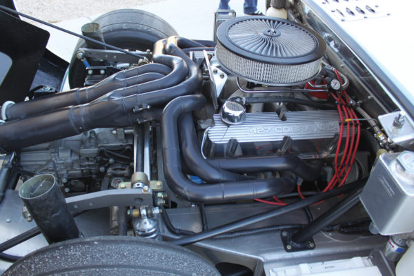 Craft Performance supplied the racing engine, a 1969 Ford 351 Windsor block, bored and stroked to 427 cubic inches, all good for about 700 horses.