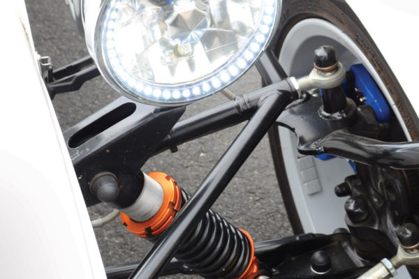 Those fully adjustable ATR shocks are produced  by GBS.