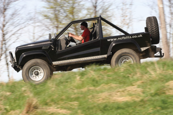 FourWD Engineering also offers the Sahara conversion kit, based on the Land Rover Discovery.