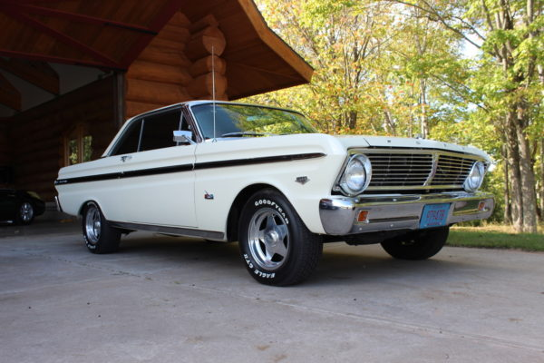 One other 1960's Ford design was present, a 1965 Ford Falcon Futura owned by one of our good friends Steve Kutchera of Three Lakes.
