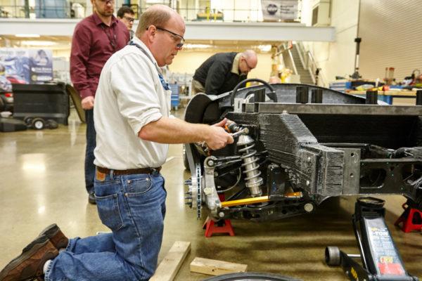 Oak Ridge National Laboratory 3 D Printed Shelby Cobra 4