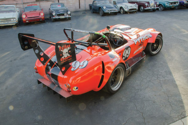 Python Roadster D8