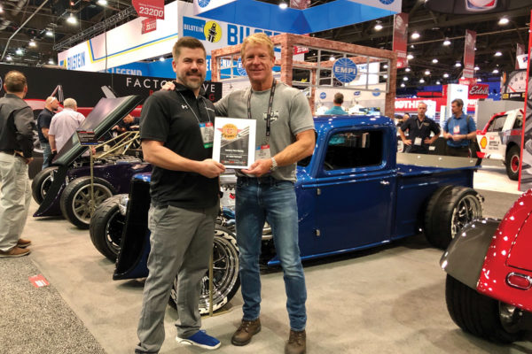 Dave Smith, CEO/President & Brad Bisnette, RCN Mag Factory Five Racing