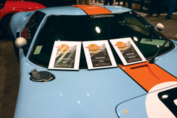 Superformance & Hillbank took home three awards combined Superformance/Hillbank Motor Corp.