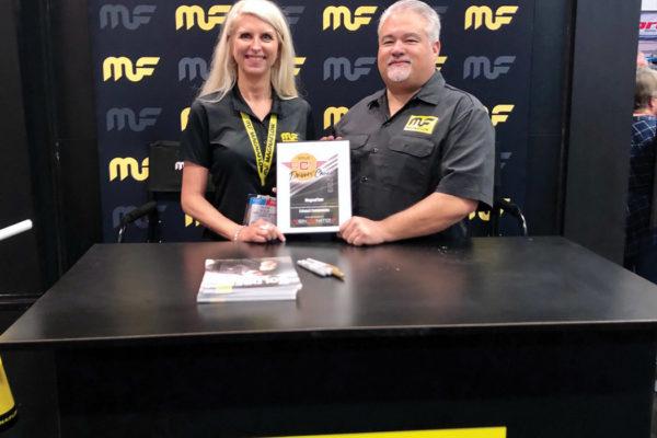Valerie Nadalini, VP of Marketing & Richard Waitas, Senior Manager MagnaFlow