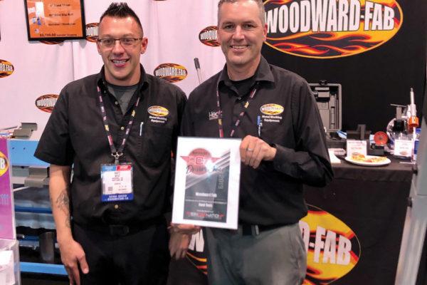 Darren O'Brien, Manager & Matt Menz,  Product Specialist Woodward Fab